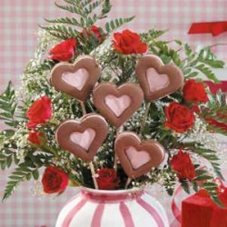 Valentine Cookie Bouquet recipe