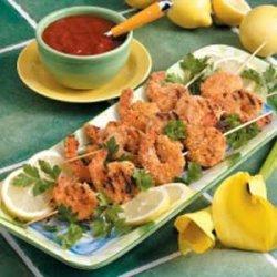 Appetizer Shrimp Kabobs recipe