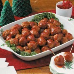Honey-Garlic Glazed Meatballs recipe
