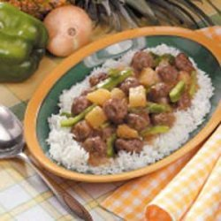 Sweet N Sour Meatballs recipe