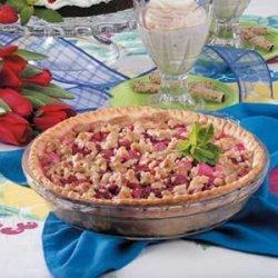Dutch Rhubarb Pie recipe