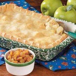 Apple Turkey Potpie recipe