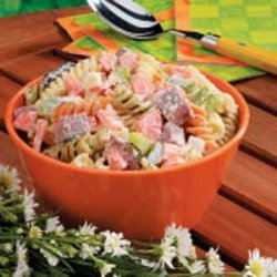 Hearty Pasta Salad recipe
