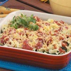 Vegetable Noodle Bake recipe