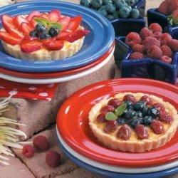 Fresh Fruit Tarts recipe
