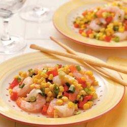 Corn and Shrimp Salad recipe