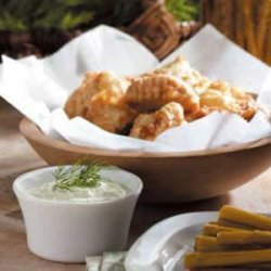 Nuggets with Dill Sauce recipe