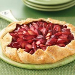 Ginger Plum Tart recipe