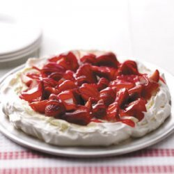 Strawberry Meringue Tart recipe