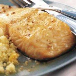 Lemon Butter Salmon recipe