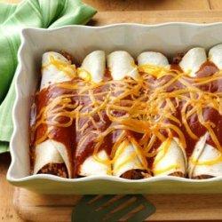 Beef 'n' Rice Enchiladas recipe