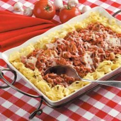 Italian Turkey and Noodles recipe