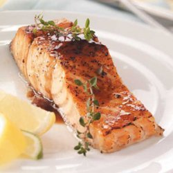 Maple Glazed Salmon recipe