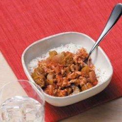 Ground Chicken Gumbo recipe