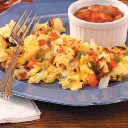 Fiesta Scrambled Eggs recipe