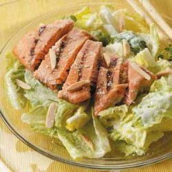 Salmon Caesar Salad recipe