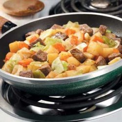 Hearty Skillet Stew recipe