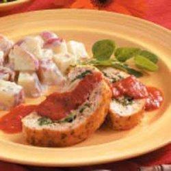 Spinach Turkey Roll recipe