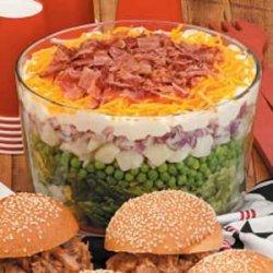 7-10 Split Layered Salad recipe