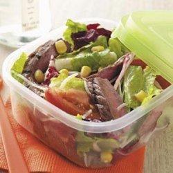Grilled Steak Tossed Salad recipe