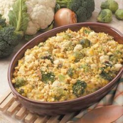 Vegetable Stuffing Bake recipe