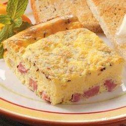 Ham 'n' Cheese Squares recipe