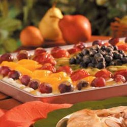 Fruit Pizza Supreme recipe
