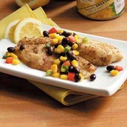 Tilapia with Corn Salsa recipe