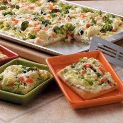 Veggie Appetizer Squares recipe