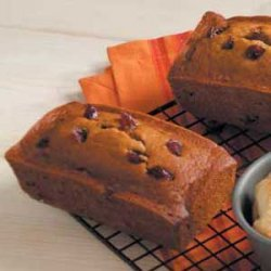 Cranberry and Spice Pumpkin Bread recipe