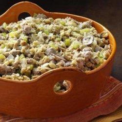 Skillet Sausage Stuffing recipe