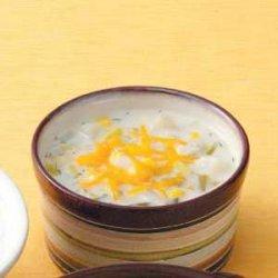 Corn Leek Chowder recipe