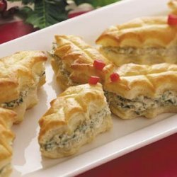 Puff Pastry Holly Leaves recipe