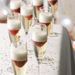 Jellied Champagne Dessert recipe