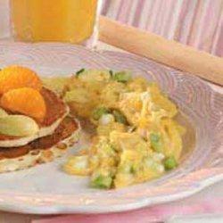 Green Onion Scrambled Eggs recipe