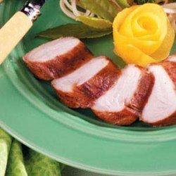 Grilled Turkey Tenderloins recipe