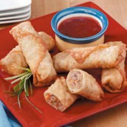Turkey Egg Rolls recipe