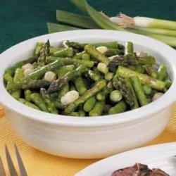 Asparagus 'n' Vinaigrette recipe