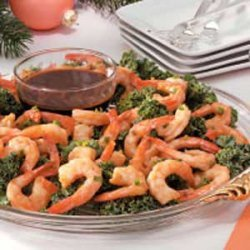 Shrimp with Dipping Sauce recipe