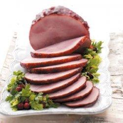 Cranberry Glazed Ham recipe