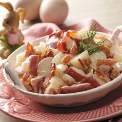 Creamy German Potato Salad recipe