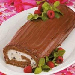 Chocolate Ice Cream Roll recipe