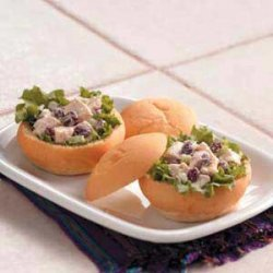Cranberry Chicken Salad Sandwiches recipe