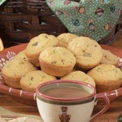 Jalapeno Cornmeal Muffins recipe