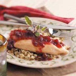 Cranberry Chicken and Wild Rice recipe
