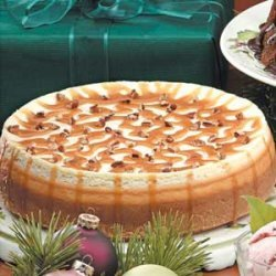 Caramel Pecan Cheesecake recipe