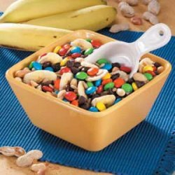 Chocolate 'n' More Snack Mix recipe