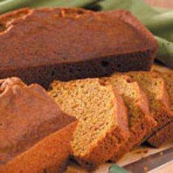 Whole Wheat Pumpkin Bread recipe