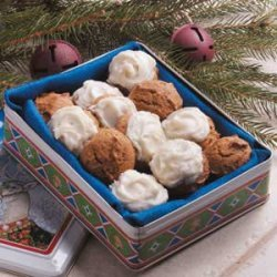 Frosted Ginger Creams recipe