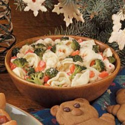 Confetti Tortellini Salad recipe